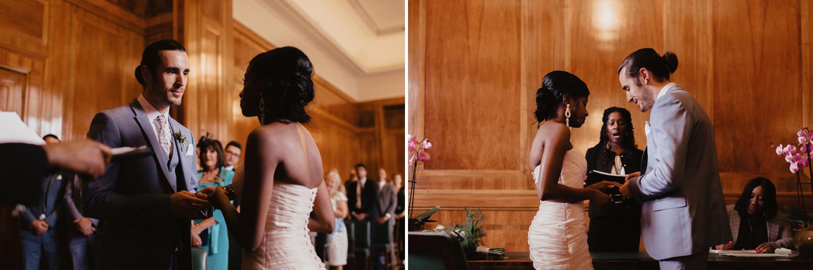 A beautiful wedding at Hackney Town Hall by Essex Wedding Photogapher Chris Bradshaw