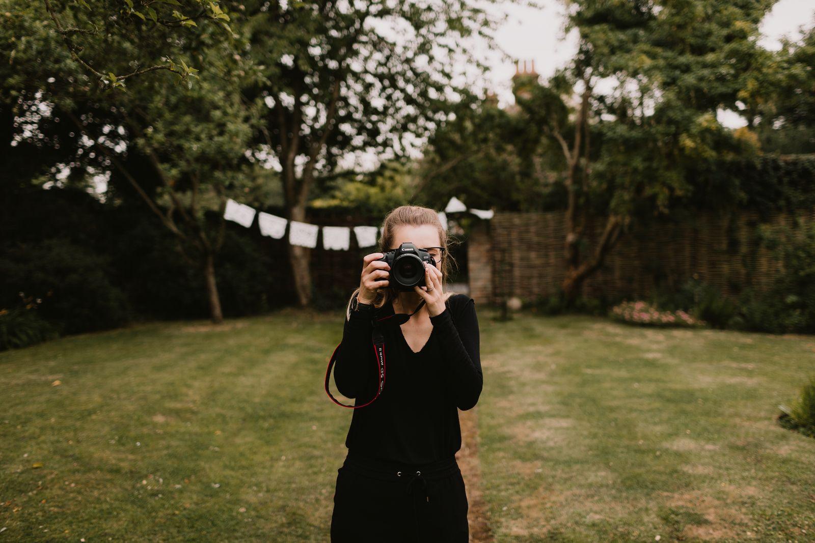 Chris Bradshaw Photography assistant Laura Bradshaw